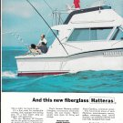 1969 Hatteras 38 Convertible Yacht 2 Page Color Ad