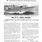 1950 Beetle Boat Company Ad- Great Photo of BB 24'