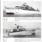 1951 Wheeler Shipyard Co Ad- Nice Photos of 44' & 41' Models