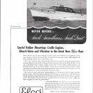 1947 Elco Yachts Ad- Nice Photo of Elco 40 Express Cruiser