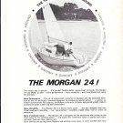 1967 Morgan 24 Yacht Ad- Nice Photo