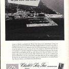 1967 Chubb Insurance Ad- Great Photo of St. Andrew Florida Intercoastal Waterway