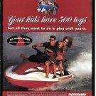 1998 Tigershark Watercraft Color Ad- Nice Photo of TS 1000 L