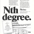 1971 Striker 54' Flybridge Sportfisherman Yacht Ad- Drawing