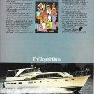 1971 Trojan 50' Motor Yacht Color Ad- Nice Photo