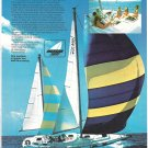 Old Morgan Out Island 41 Yacht Color Ad- Nice Photo