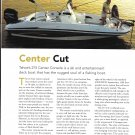 2005 Tahoe 215 Center Console Boat Review & Specs- Nice photos