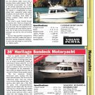 2000 Commander 30 & Heritage 36 New Boats Reviews & Specs- Photos