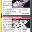 2000 Maxum 3500 & Silverton 410 New Boats Reviews & Specs- Photos