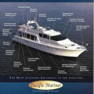 2000 Pacific Mariner Motoryacht Color Ad- Nice Photo