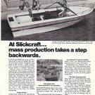 Old AMF Slickcraft SS- 194 Boat Ad- Nice Photo