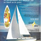 1973 Gulfstar 41 Yacht Color Ad- Specs & Nice Photo