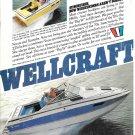 1979 Wellcraft Marine Color Ad- Nice Photo Suncruiser 225 & 255