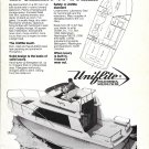 1979 Uniflite 26' Sedan Yacht Ad- Nice Photo