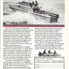 1982 Boston Whaler Revenge 25 Boat Ad- Nice Photo