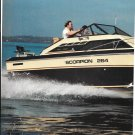 1982 Chris- Craft Scorpion 264 Boat Review & Specs- Nice Photos