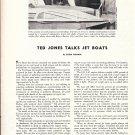 1959 Ted Jones TalksJet Boats Article & Nice Photos