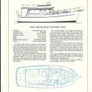 1977 Heritage West Indian 36 Yacht Review & Specs- Drawing