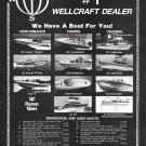 1973 Fred Chall Marine Ad- Photos of 11 Wellcraft Boats