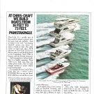 1973 Chris- Craft Boats 2 Page Color Ad- Photos of 7 Models