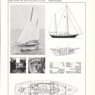 Old Cheoy Lee Clipper 33 Yacht Ad- Specs & Photos