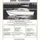 1976 John Allmand Boats Ad- Nice Photo of 26'