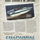 1992 Chaparral 2200 SLC Boat Color Ad- Nice Photo