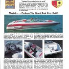 1992 Mariah Shabah 212 Z Boat Color Ad- Nice Photos