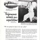"1950 RCA Radiomarine Ad- Photo of Harco 40 Boat ""Little Honey"""