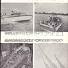 1958 Owens Flagship 2500  & Burger 57' Dyna New Boats Ad- Nice Photos