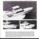 1987 Richard Bertram Yachts Ad- Nice Photos of 3 Models