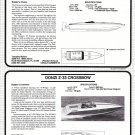 1987 Donzi Z-33 & Tempest 32 New Boats Reviews & Specs- Photo & Drawing