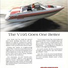 1987 Rinker V 195 Boat Color Ad- Nice Photo