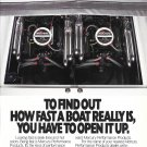 1987 Mercury MerCruiser 575 Inboard Motor Color Ad- Nice Photo