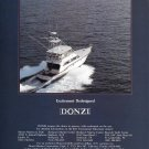 1987 Donzi Z65 Tournament Fisherman Yacht Color Ad- Nice Photo