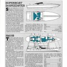 1987 S & S 88 & Superboat 24 Speedster New Boats Reviews & Specs- Drawings