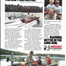 1983 Mariner Outboard Motors Color Ad- Nice Photo of Lund Boat