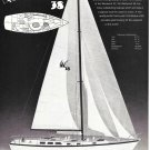 1984 Vagabond Yacht Corp Ad- Specs & Drawing Westwind 38