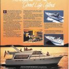 1984 Bayliner 4550 Pilothouse Motoryacht Color Ad- Nice Photo