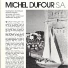 1975 Michel Dufour S.A. Yachts Article & Great Photos