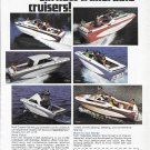 1975 Glastron Boat Company Color Ad- Nice Photo of 6 Models