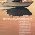 1974 Trojan 25' Sea Raider Boat Color Ad- Nice Photo