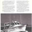 1974 American Marine LTD Alaskan 49 Motorship 2 Page Ad- Nice Photos