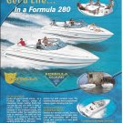 2002 Thunderbird Formula 280 Boats Color Ad- Nice Photo