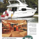 2002 Silverton 410 Sport Bridge Boat Color Ad- Nice Photo