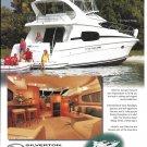 2002 Silverton 410 Sport Bridge Boat Color Ad- Nice Photo