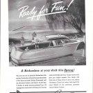 1945 Richardson 25' Boat Ad- Nice Drawing