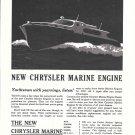 1945 Chrysler Marine Engines Ad- Drawing