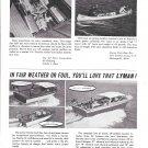 1965 Lyman Boat Works Ad- Photo of 3 Models