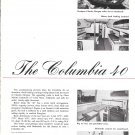 1965 Columbia 40 Yacht 2 Page Ad- Specs & Nice Photos